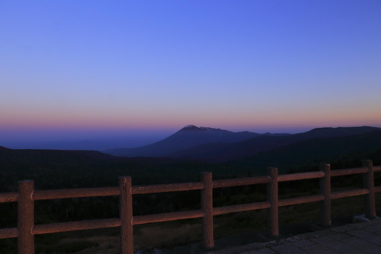 八幡平の夕景